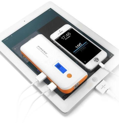 Carregador Portátil Pineng para celular Bateria Externa - 10000mAh 5v - JS Soluções em Segurança