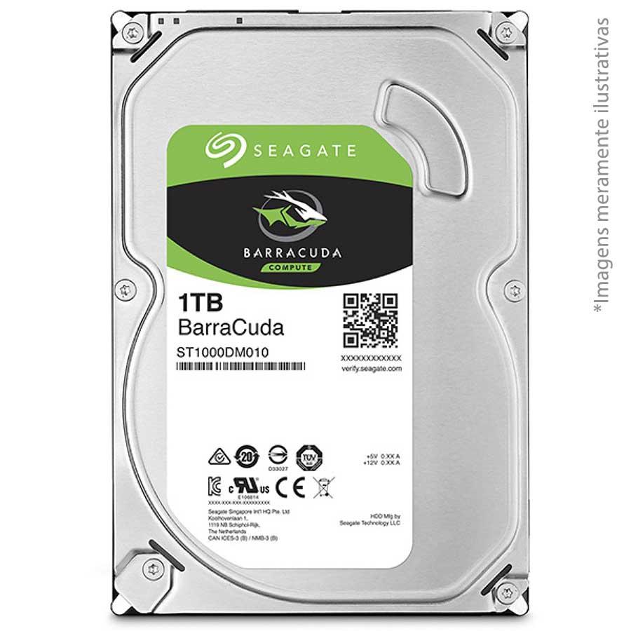 HD 1TB Sata III Seagate Desktop 7200rpm - JS Soluções em Segurança
