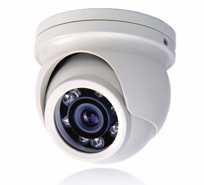 Mini câmera dome infra 4x1 HDCVI, HDTVI, AHD & analógica  2.8mm 12 leds 20mts Anti-Vandalimo - externa metal 720p - JS Soluções em Segurança