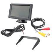 Monitor 4.3 LCD Alta Resolução 12V (fonte não inclusa) - JS Soluções em Segurança