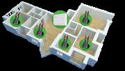 Microcentral PABX de telefonia fixa e sem fio Intelbras 2 linhas 4 ramais com fio Conecta + - JS Soluções em Segurança