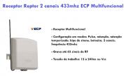 Receptor Multifuncional 2 Canais 433MHZ ECP - JS Soluções em Segurança