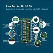 RACK DVR STAND ALONE 4V2A E FONTE 5A + CABO 910  Cod:1121 - JS Soluções em Segurança