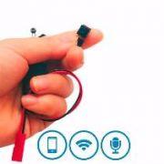 DVR Espião Wifi com Áudio + entrada SD card até 64GB acessa via celular remotamente  - JS Soluções em Segurança