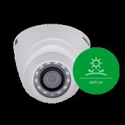 """Câmera Dome Infra Multi HDCVI, AHD,TVI e analógica Full HD 1/2.7"""" 2 megapixels 3.6mm 4 em 1 Intelbras VHD 1220D 1080p - JS Soluções em Segurança"""