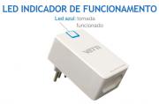 Anti-Raio Plug Premium 5 níveis de proteção automática 127V 10A - JS Soluções em Segurança