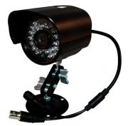 Câmera Super Infra Red 1/3 CCD Sony 3,6mm 700 linhas alta Definição externa - JS Soluções em Segurança