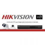 DVR Híbrido 4 canais Turbo HD 3.0 Pentaflex 5 em 1 HDTVI Hikvision Full HD 1080p - JS Soluções em Segurança