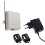 Kit Multifuncinal Receptor + Controle Remoto ECP + Fonte 12v 1A - JS Soluções em Segurança