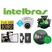 """CÂMERA INFRA FLEX MULTI-HD HDCVI/ AHD/ TVI E ANALÓGICA 1/2.7"""" 2.0 Megapixels Full HD  4 em 1 VHD 3220D G4 1080p - JS Soluções em Segurança"""