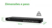 Kit Power balun 19/1U receptor e transmissor passivo 08 canais Video & Alimentação RJ45 até 300mts intelbras 720p - JS Soluções em Segurança