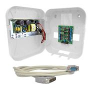 Kit de Rack + Cabo Organizador 8 Video para GV + Fonte 12V 10A - JS Soluções em Segurança