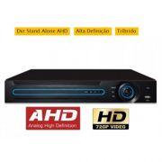 Tríbrido 5 em 1 AHD-M / TVI / CVI / ANALÓGICO E IP 16 CANAIS VÍDEO BNC + QR Code Scan 1080N - JS Soluções em Segurança