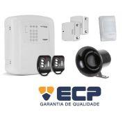 Kit Alarme Residencial Casa Comercial ECP Alard Max 1 Sem Fio - JS Soluções em Segurança