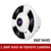 Câmera de Segurança Fisheye infra 10mts Panorâmica de 360º Graus AHD 1 Megapixel 720p - JS Soluções em Segurança
