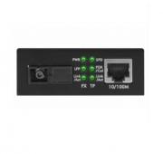 Conversor de Mídia Fast Ethernet Monomodo 20 km intelbras KFSD 1120A - JS Soluções em Segurança