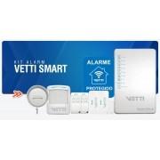 Kit Alarme Sem Fio Smart VETTI já vem configurado  - JS Soluções em Segurança