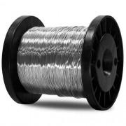 Fio Aço Inox Cerca Elétrica Fio 0,45mm Bobina 400mts  - JS Soluções em Segurança