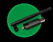 Adaptador USB Wireless N300 C/ Antena Externa IWA 3001 - JS Soluções em Segurança
