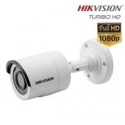 Câmera Bullet infra Turbo HD 2.0 Megapixels 2.8mm 20mts Hikvision Full HD 1920x1080p - JS Soluções em Segurança