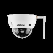 Câmera Dome IP Wi-Fi 4 Megapixels BLC/ WDR/ HLC/ Onvif/ H.265 1/3 2.8mm 30mts 2688p intelbras VIP 3430 D W - JS Soluções em Segurança