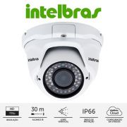Câmera IP dome varifocal HD 720p 30mts  2.8mm à 12 mm intelbras VIP 1130D VF  G2 - JS Soluções em Segurança