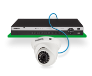 Câmera IP Full HD 2 Megapixels 2.8MM+ BLC/HLC/DWDR/IVS/R.O.I CERCA IP67 30MTS ONVIF PoE Intelbras VIP 3230 D  - JS Soluções em Segurança