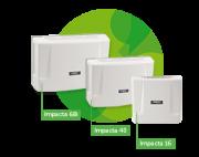 Central PABX híbrida Impacta 16 (0 TR - 0 RAM) - JS Soluções em Segurança