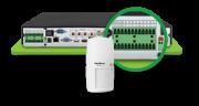 DVR Stand Alone Intelbras 24 Canais = 16 (5 EM 1) + 8 Canais IP 5 MP Full HD 1920x1080p Com 16 entradas e 3 saídas de alarme + 4 entradas de audio RCA MHDX 5016  - JS Soluções em Segurança
