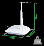 Roteador Wireless com IPv6 IWR 1000N  150 Mbps 5 dBi - JS Soluções em Segurança