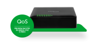 Switch 16 portas Fast Ethernet SF 1600 Q+ - JS Soluções em Segurança