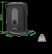 TIS 5000 Ramal externo sem fio Porteiro Intelbras - JS Soluções em Segurança