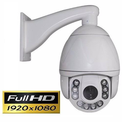 IP Speed dome infra 2.0 Megapixels 30X óptico Onvif + Fonte 12V IP66 Full HD 1080p - JS Soluções em Segurança