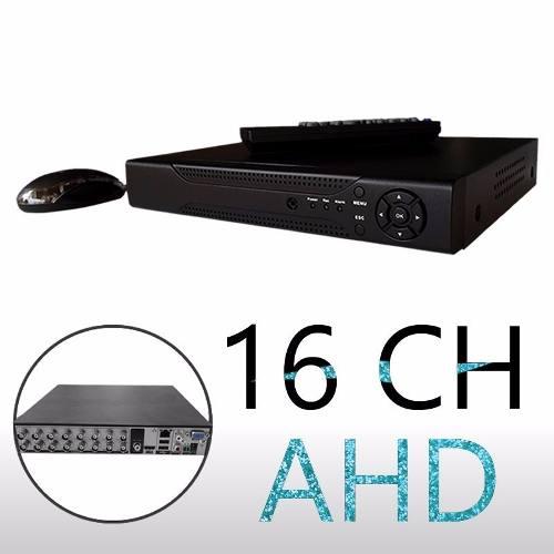 DVR gravador 16 canais de vídeo 5 em 1 720p acesso QR Cloud  - JS Soluções em Segurança