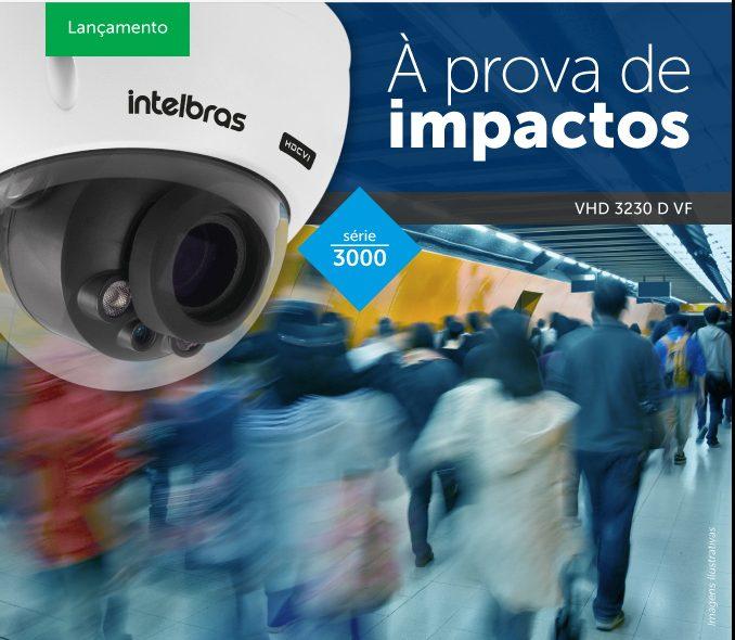 Câmera Dome Infra Multi-HD 2.7mm á 12mm 2 Megapixels IP66 IK10 Anti-Vandalismo VHD 3230 D G4 VF 1080p - JS Soluções em Segurança