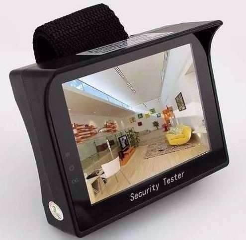 Monitor Testador de Câmeras Analógicas 4.3 LCD Colorido (PAL / NTSC) - JS Soluções em Segurança