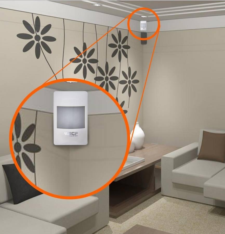 Sensor Infravermelho IVP para Alarmes Visory RF Sem Fio Saw ECP - JS Soluções em Segurança