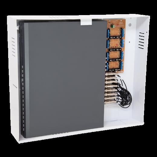 Rack Orion HD 3000 Vertical 8 Canais + cabo de 8 Videos Híbrido Cód. 3177 - JS Soluções em Segurança