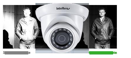 Câmera Infra Full HD IP Dome 3 Megapixels 1/3 2.8mm 20mts Intelbras VIP S4320 G2  - JS Soluções em Segurança