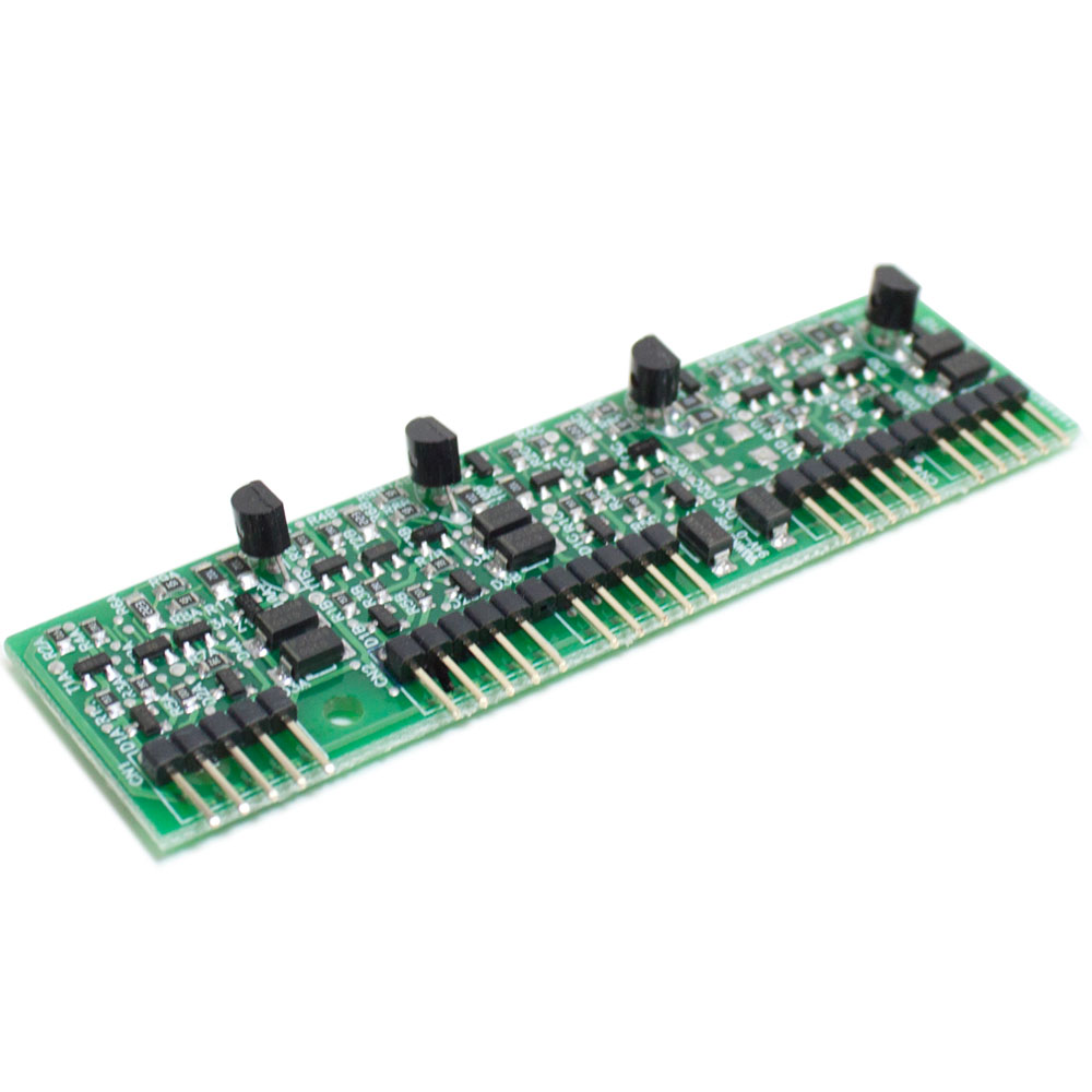 Placa Ramal Balanceada, 4 Ramais Analógicos com fio , para Centrais Conecta e Modulare  - Intelbras - JS Soluções em Segurança