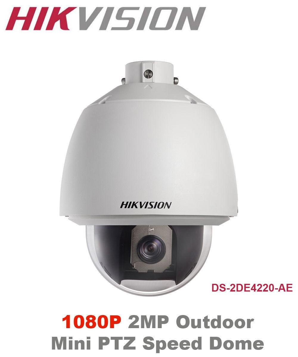 SPEED DOME IP 2.0 Megapixels (1920x1080 30fps) 20X ÓPTICO, 16X Digital Onvif 2.0 Hikvision DS-2DE4220-AE - JS Soluções em Segurança