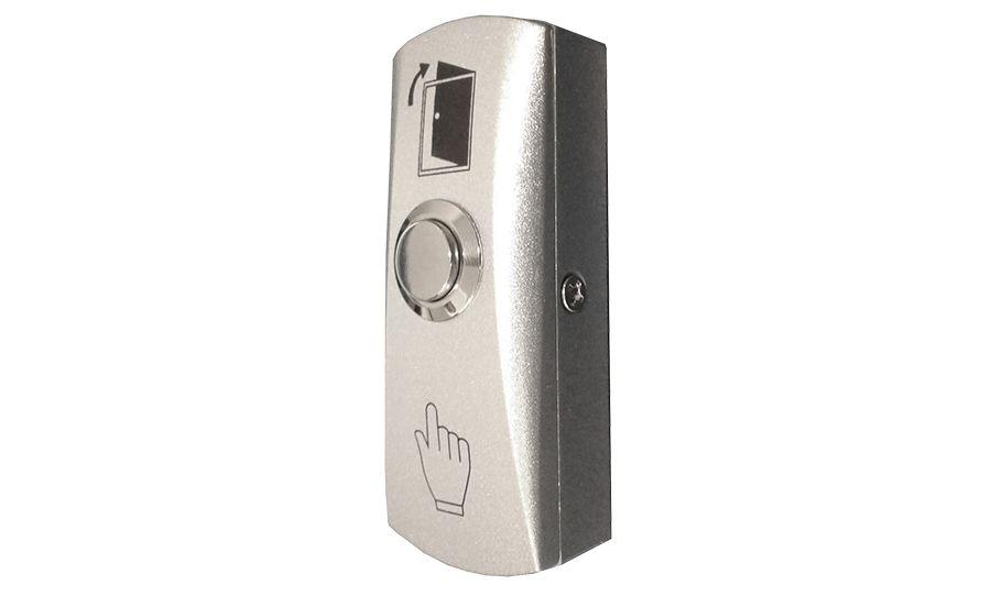 Botão de saida inox com caixa automatiza  - JS Soluções em Segurança
