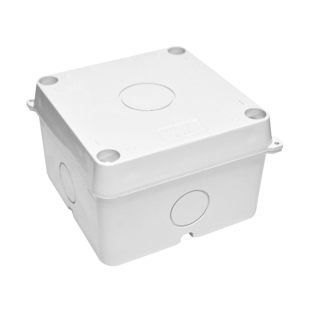 CAIXA ORGANIZADORA PARA CFTV ABS UV 100X100X70 - JS Soluções em Segurança