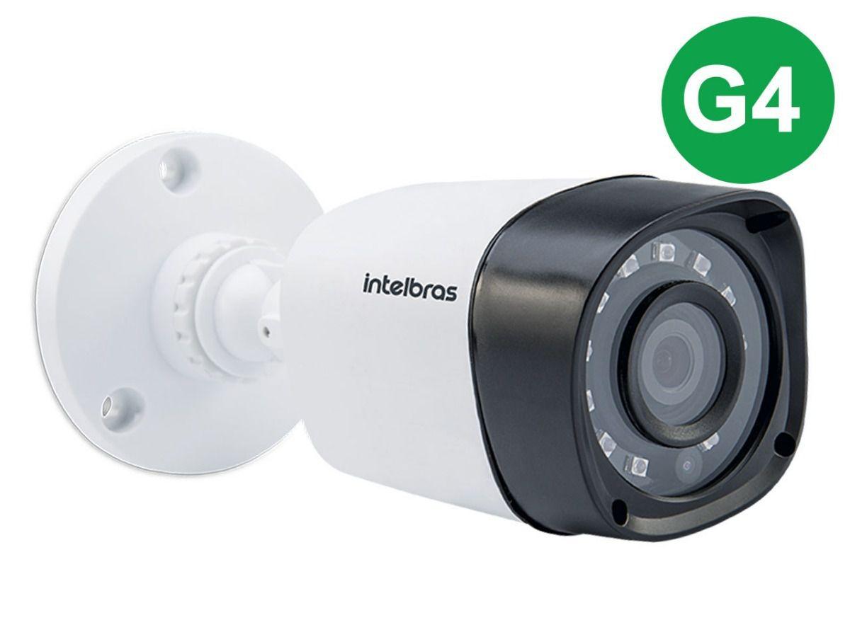 CÂMERA BULLET INFRA FLEX MULTI-HD HDCVI,AHD,HDTVI E ANALÓGICA 720p 2.6MM INTELBRAS VHD 3120 B G4 - JS Soluções em Segurança