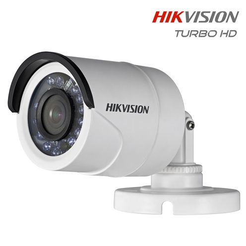 Câmera Bullet Infravermelho Turbo HD HDTVI IP 66 20mts 1/3 2.8mm 720p Hikvision - JS Soluções em Segurança