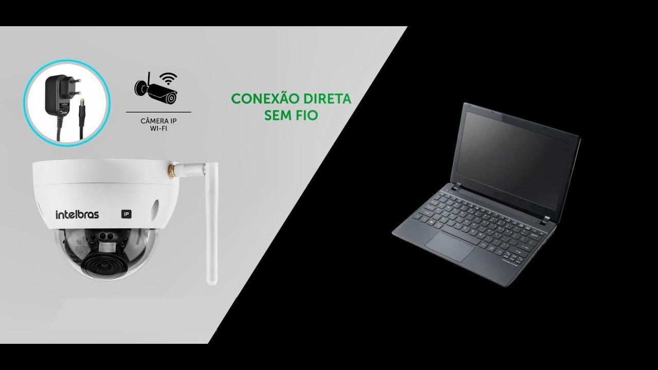 Câmera Bullet IP Wi-Fi 4 Megapixels  BLC/ WDR/ HLC/ Onvif/ H.265 30mts 2688p intelbras VIP 3430 W - JS Soluções em Segurança