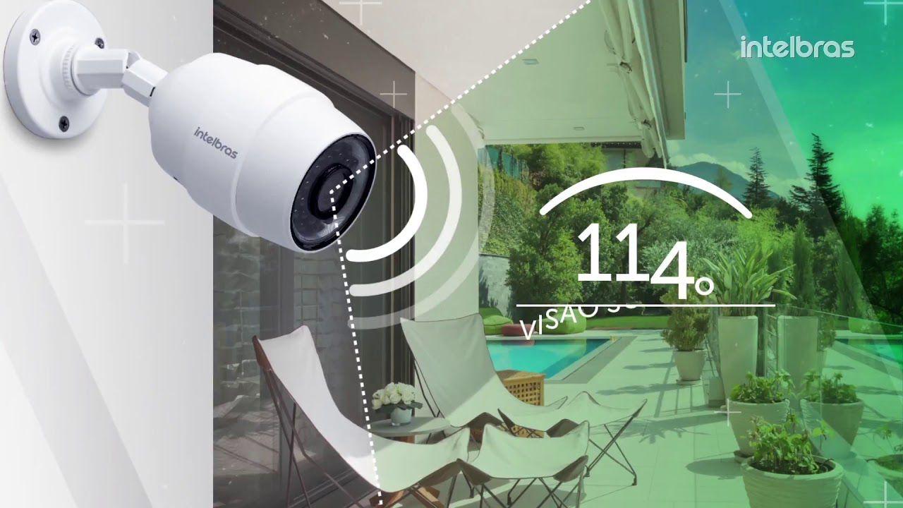 Câmera de segurança infra Wi-Fi HD 1/3 2.8mm 114° IP66 externa IC5 onvif 720p intelbras  - JS Soluções em Segurança