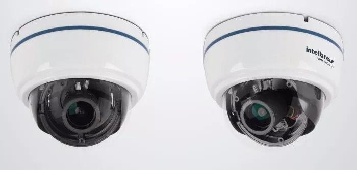 Camera Profissional 650 linhas Lente 2.8 a 12mm com Infravermelho para 40MTS VPD 7000 VF - JS Soluções em Segurança