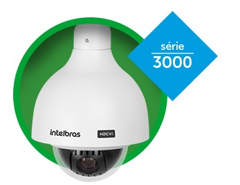 Câmera Speed Dome Hibrido analogico e HDCVI 720P 1 MEGAPIXEL ZOOM 20X + 4X Digital IP66 Intelbras VHD 3120 SD - JS Soluções em Segurança