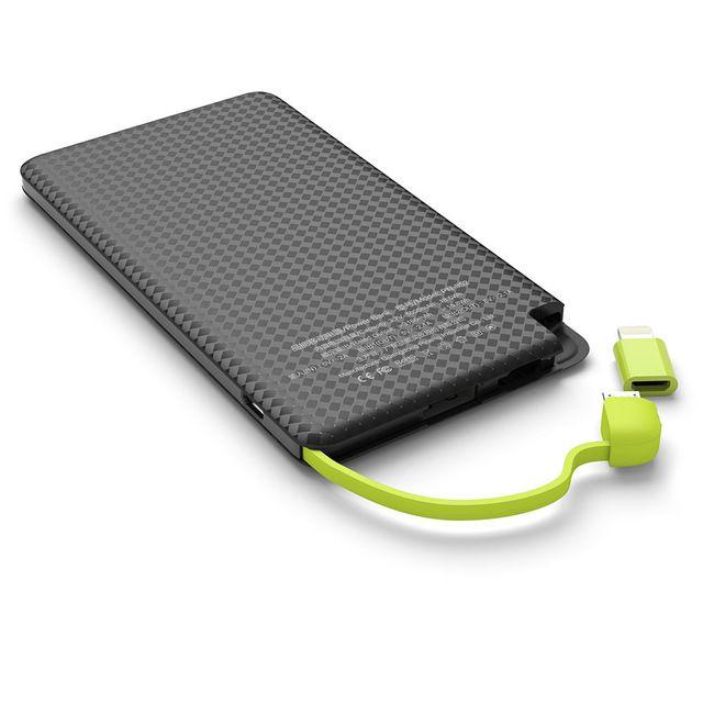 Carregador portátil para Smartphones 5000mAh 5V 2.1A - JS Soluções em Segurança